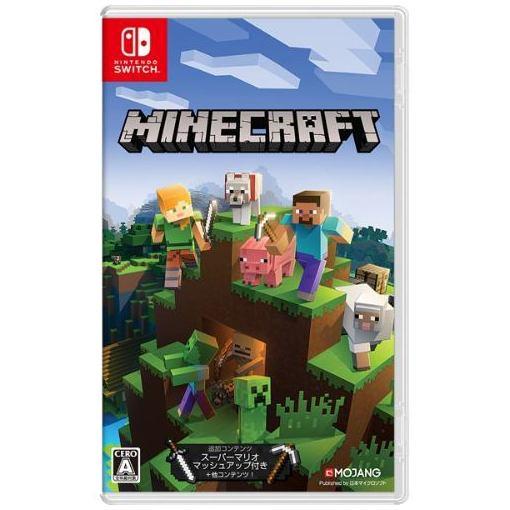 【ポイント10倍!5月25日(土)0:00〜5月28日(火)9:59まで】Minecraft Nintendo Switch版 HAC-P-AEUCA