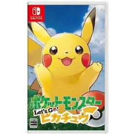 【ポイント10倍!11月12日(火)23:59まで】ポケットモンスター Let's Go! ピカチュウ Nintendo Switch HAC-P-ADW2A