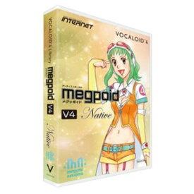 インターネット VOCALOID 4 Library Megpoid V4 Native VA4L-MPN01