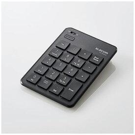エレコム TK-TBP020BK Bluetooth薄型テンキーパッド ブラック