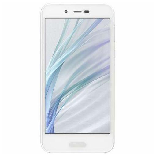 シャープ SH-M05-W SIMフリースマートフォン Android 7.1 5.0型 「AQUOS(アクオス)」 ホワイト