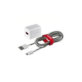 バッファロー BSMPA2404LC2WH 2.4A USB急速充電器 Lightningケーブル2.0m付属(ホワイト)