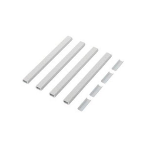エレコム LD-GAFBW2/ST/E 分割フラットモール(壁紙タイプ)[石目]