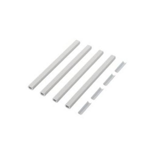 エレコム LD-GAFBW1/ST/E 分割フラットモール(壁紙タイプ)[石目]