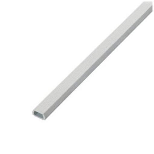エレコム LD-GAFW3/CL フラットモール(壁紙タイプ)[織目]