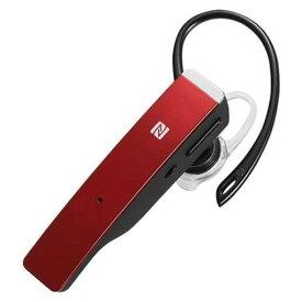 【ポイント10倍!】バッファロー BSHSBE500RD Bluetooth 4.1対応ヘッドセット 片耳タイプ ノイズキャンセリング機能搭載 レッド