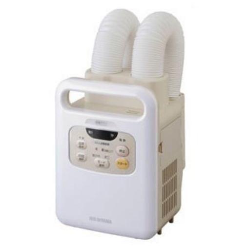 アイリスオーヤマ KFK-W1-WP 布団乾燥機 ふとん乾燥機 カラリエ ツインノズル