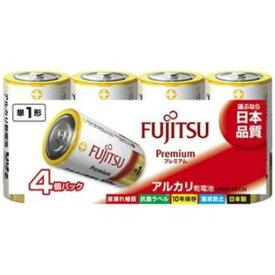 富士通 LR20FP(4S) アルカリ乾電池 プレミアムタイプ 単1形 1.5V 4個パック