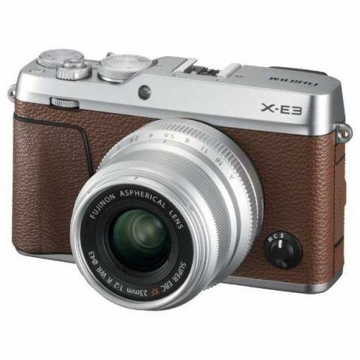 富士フイルム FX-E3LK23F2-BW デジタル一眼カメラ「X-E3」XF23mmF2 R WR キット(ブラウン)