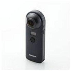 エレコム OCAM-VRW01BK 4K対応VRカメラ 「OMNI shot」