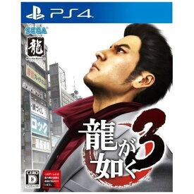 【ポイント10倍!】龍が如く3 PS4版 PLJM-16232