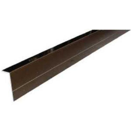 アルインコ 波板用側枠 2.4M ブロンズ