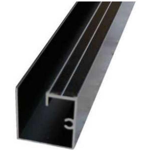 アルインコ 波板用母屋材 2.4M ブラック