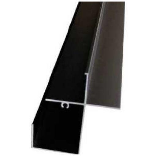 アルインコ 波板用前枠 2.4M ブラック
