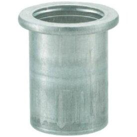 TRUSCO クリンプナット平頭アルミ 板厚2.5 M6X1.0 1000入