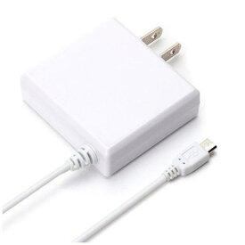 PGA(ピージーエー) PG-MAC20A01WH micro USB コネクタ AC 充電器 出力 2A ケーブル長 2m ホワイト