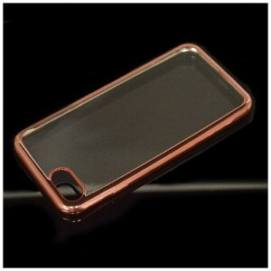 RASTA BANANA(ラスタバナナ) 3457IP7SA iPhone8/7 ケースカバー ソフト TPU サイドメッキ ローズゴールド