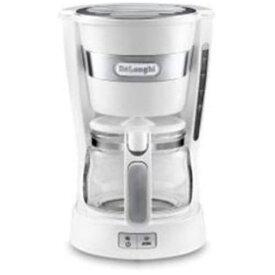 【ポイント10倍!】デロンギ ICM14011J-W ドリップコーヒーメーカー(5杯分)ホワイト