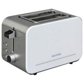 アイリスオーヤマ IPT-850-W ポップアップトースター (4〜8枚切・2枚)