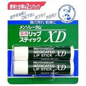 ロート製薬 メンソレータム 薬用リップスティックXD (4.0gx2)