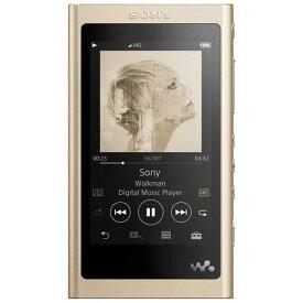 【ポイント2倍!】ソニー NW-A55NM ウォークマン ウォークマンA50シリーズ 16GB ペールゴールド