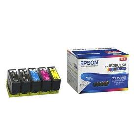 エプソン IB06CL5A インクカートリッジ 5本パック(ブラック2本、シアン、マゼンタ、イエロー)