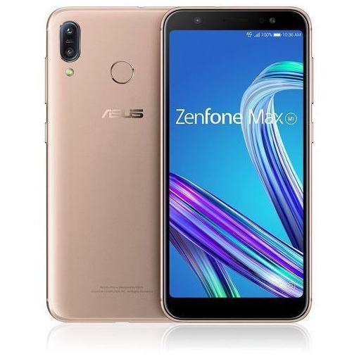 【ポイント5倍!3月23日(土)00:00〜3月26日(火)01:59】ASUS ZB555KL-GD32S3 SIMフリースマートフォン 「Zenfone Max M1 Series」 5.5インチ/メモリ 3GB/ストレージ 32GB ピンクゴールド