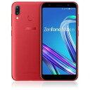 【ポイント10倍!】ASUS ZB555KL-RD32S3 SIMフリースマートフォン 「Zenfone Max M1 Series」 5.5インチ/メモリ 3GB/ストレージ 32GB ルビーレッド