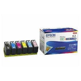 インク エプソン 純正 カートリッジ インクカートリッジ KAM-6CL-M インクカートリッジ カメ 6色パックM 黒のみ増量 インク