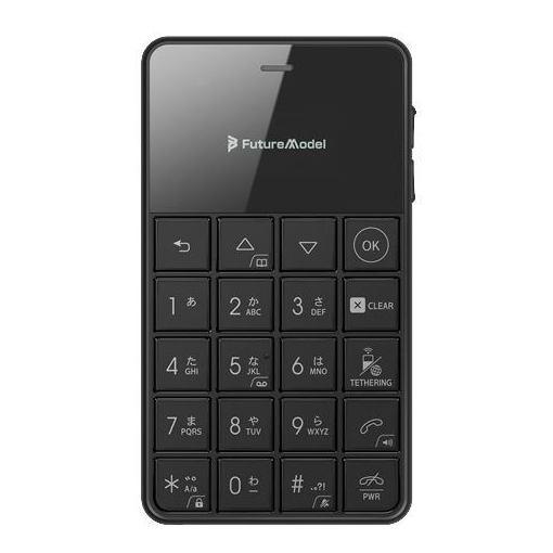 【ポイント5倍】フューチャーモデル MOB-N18-01-BK SIMフリー携帯電話 Android 6.0搭載 「NichePhone-S 4G」 黒