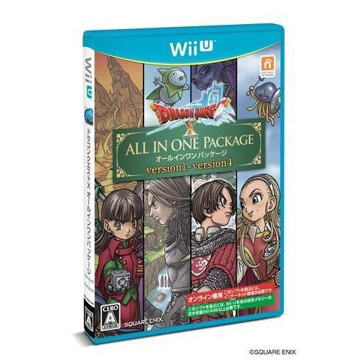 ドラゴンクエストX オールインワンパッケージ WiiU版 WUP-P-WDQJ (version1〜4)
