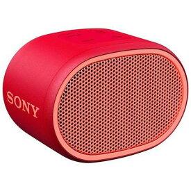 【ポイント10倍!】ソニー SRS-XB01RC 重低音ワイヤレススピーカー R