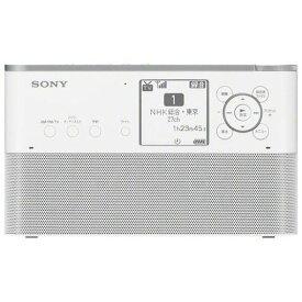 【ポイント10倍!11月12日(火)23:59まで】ソニー ICZ-R260TVC ポータブルラジオレコーダー 16GB W