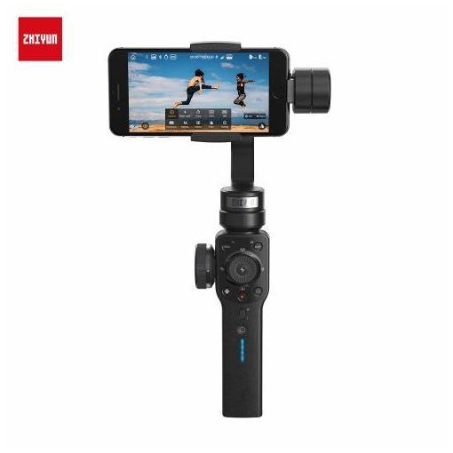 ZHIYUN(ジーウン) Smooth 4-Black C030016J プロカメラマンや映像クリエーターに愛用される電動スタビライザー