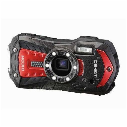 【ポイント10倍!3月21日(木)20:00〜】リコー WG-60RED デジタルカメラ「RICOH WG-60」(レッド)