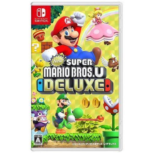 【ポイント10倍!5月25日(土)0:00〜5月28日(火)9:59まで】New スーパーマリオブラザーズ U デラックス Nintendo Switch HAC-P-ADALA