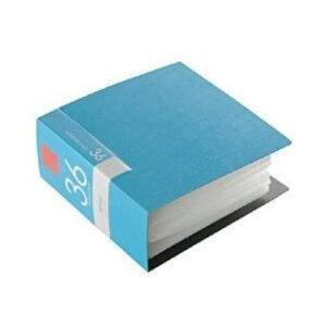 ケース バッファロー CD DVD CD DVDファイル 36枚収納 ブルー ブックタイプ 36枚収納 BSCD01F36BL
