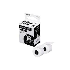 メモプリンターテープ 18mm幅(白テープ) XA-18WE