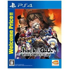 【ポイント10倍!2月18日(火)00:00〜23:59まで】.hack//G.U. Last Recode Welcome Price!! PS4 PLJS-36095