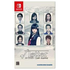 【ポイント10倍!】√Letter ルートレター Last Answer Nintendo Switch版 HAC-P-ARKLA