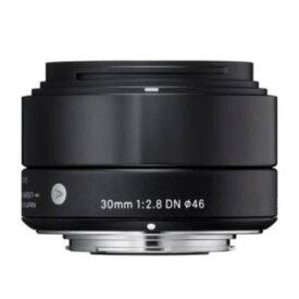 交換用レンズ SIGMA A 30mm F2.8 DN (マイクロフォーサーズ用) ブラック