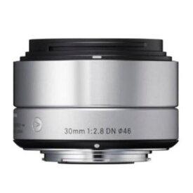 交換用レンズ SIGMA A 30mm F2.8 DN (マイクロフォーサーズ用) シルバー