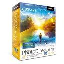 【ポイント10倍!】サイバーリンク PhotoDirector 10 Ultra 通常版 PHD10ULTNM-001