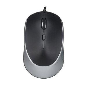 HerbRelax YYM12F1-S 有線マウス シルバー