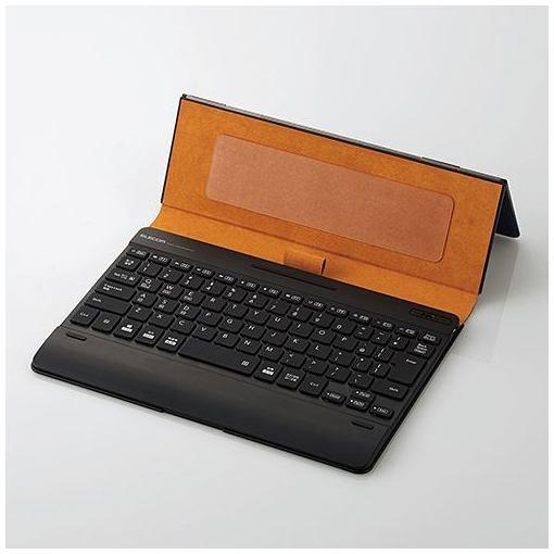 エレコム TK-CAP03BU タブレットケース付きワイヤレスBluetooth(R)キーボード ブルー