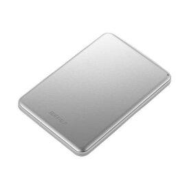 【ポイント10倍!2月22日(土)00:00〜】バッファロー HD-PUS1.0U3-SVD USB3.1(Gen1)/USB3.1 ポータブルHDD 1TB シルバー