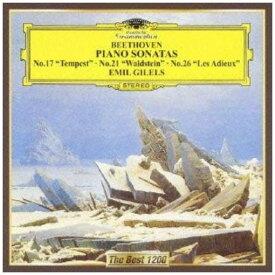 【CD】ギレリス / ベートーヴェン:ピアノ・ソナタ第17番「テンペスト」、第21番「ワルトシュタイン」、第26番「告別」