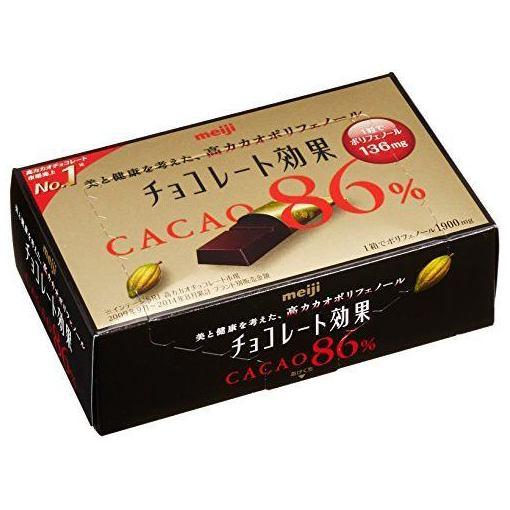 【ポイント10倍!5月25日(土)0:00〜5月28日(火)9:59まで】明治 チョコレート効果カカオ86%BOX 70g