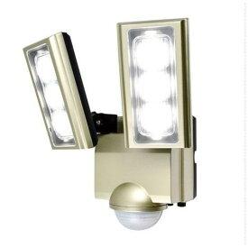 【ポイント2倍!】ELPA ESL-ST1202AC 屋外用LEDセンサーライト AC電源