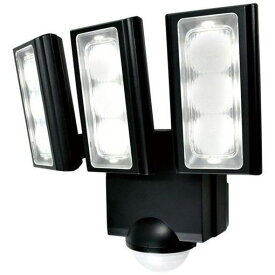【ポイント10倍!】ELPA ESL-313DC 屋外用LEDセンサーライト 乾電池式 3灯 白色/乾電池式